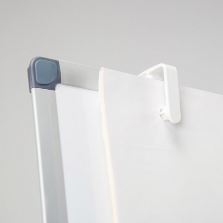 Magnetic Flip Chart Easel Low Cost White Light Display